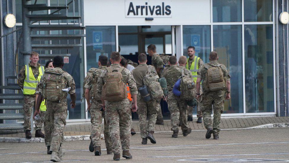 Armed forces return