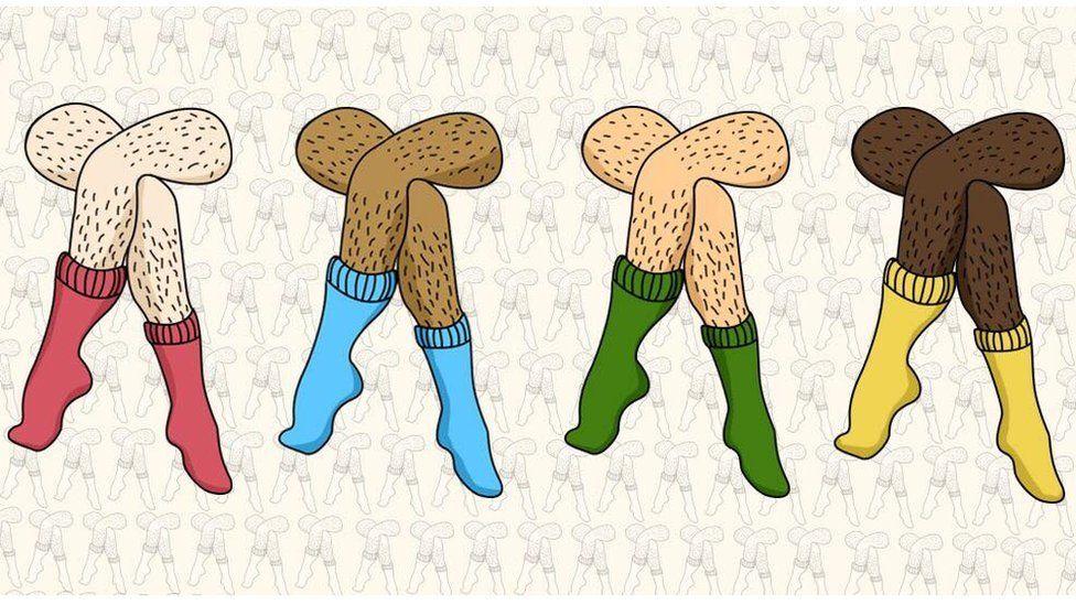 Hairy legs for Januhairy
