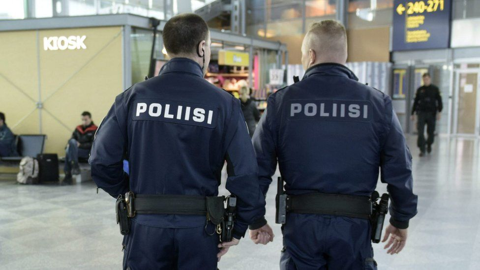 Finnish police, file pic