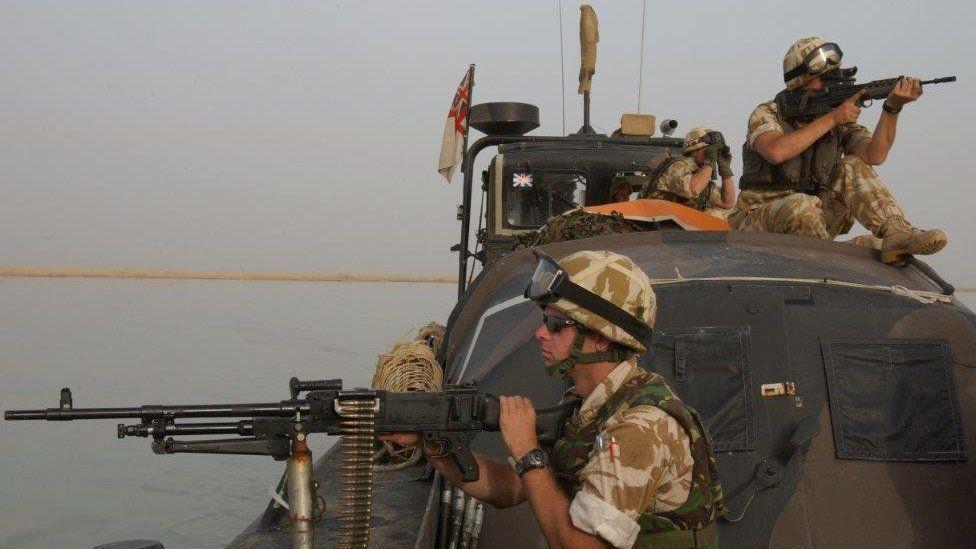Milwyr Prydain yn Irac