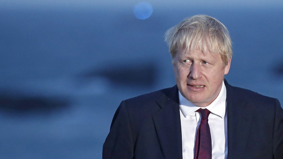Boris Johnson in Biarritz