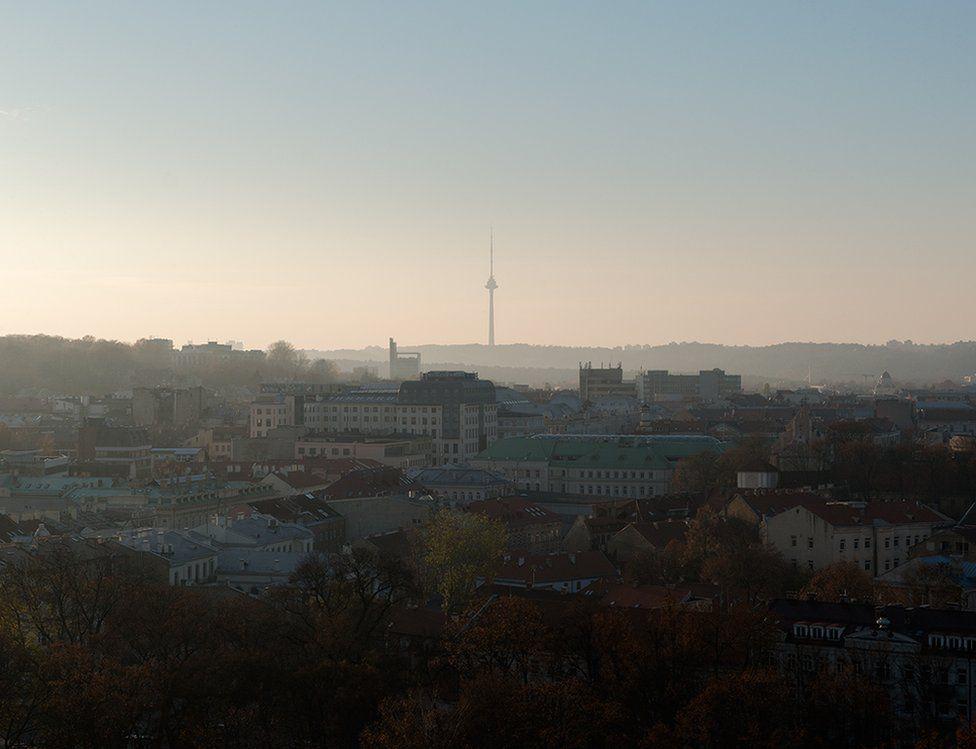 Television tower in Vilnius