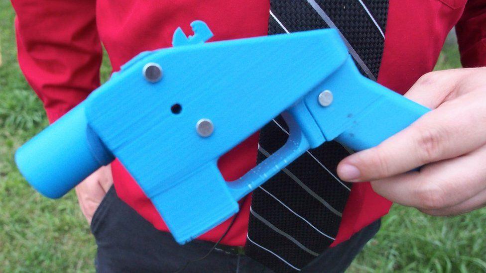 A 3D printed Liberator handgun