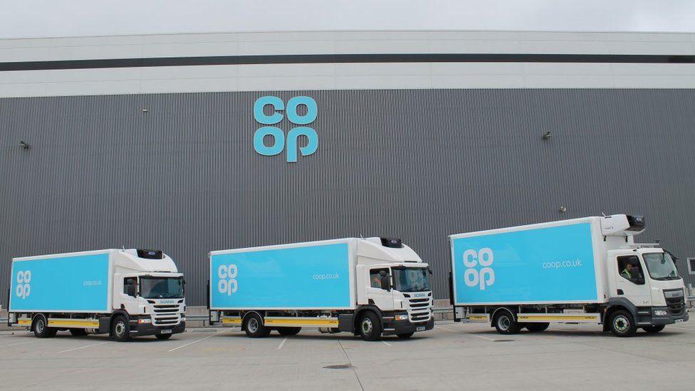 Co-op lorries