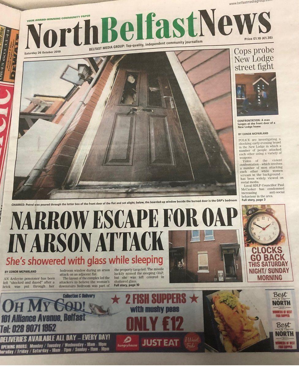 North Belfast News