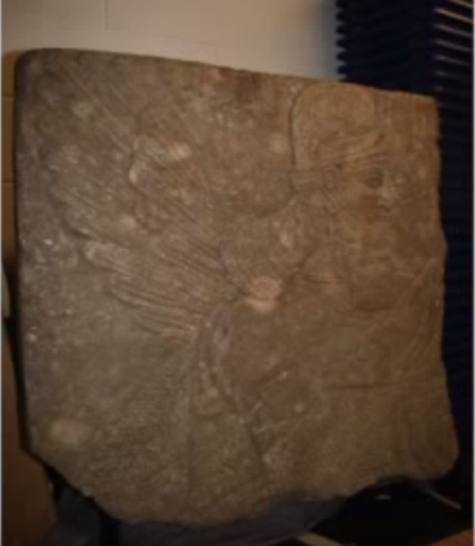 Snapshot of the looted Genie of Nimrud