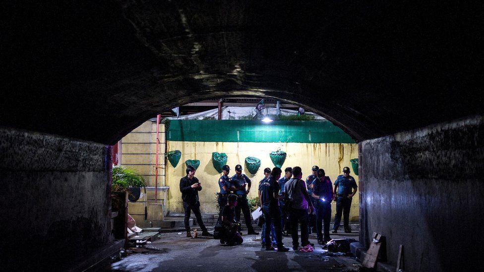 Philippines drug scene