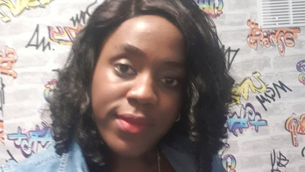 Ifeoma says she felt like her life had stopped when she had to shield during the pandemic