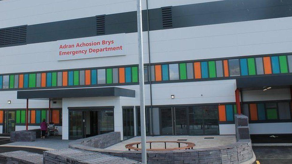 Glan Clwyd Hospital A&E