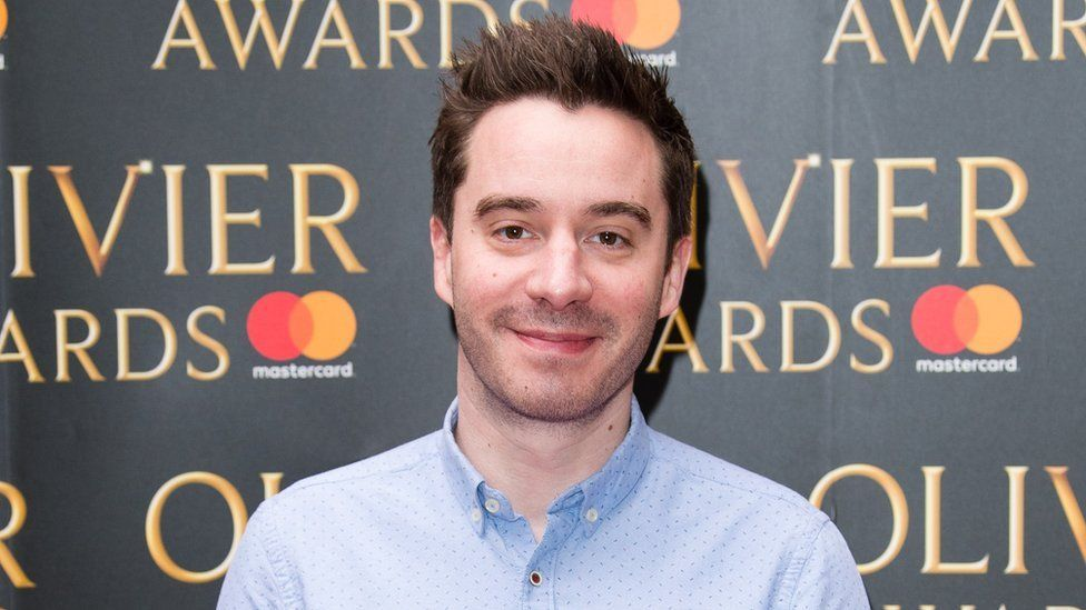 Successful playwright James Graham whose productions include Labour of Love (2017) and The Vote (2015)