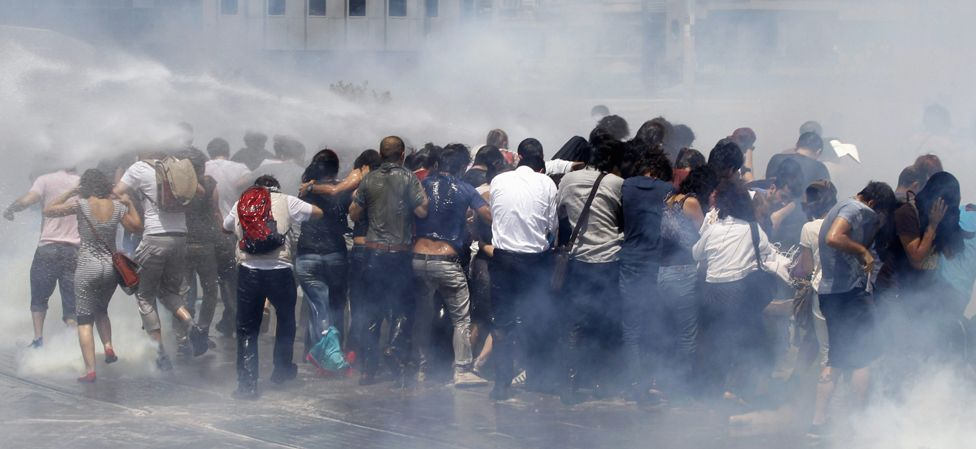 Gezi Park clash, 31 May 13