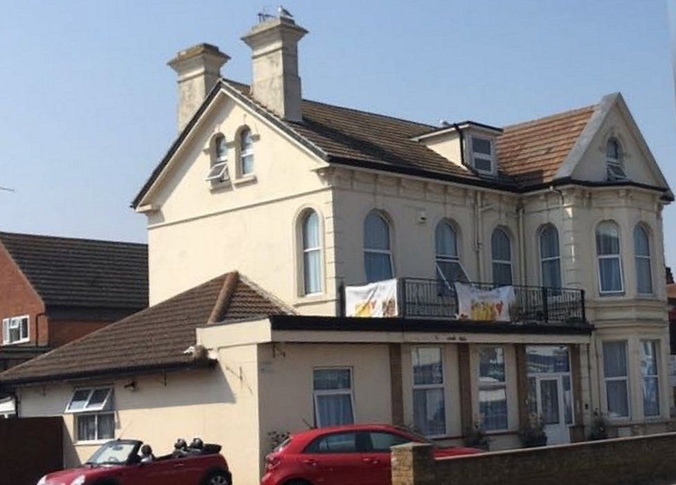 The Grosvenor Hotel is close to the seafront