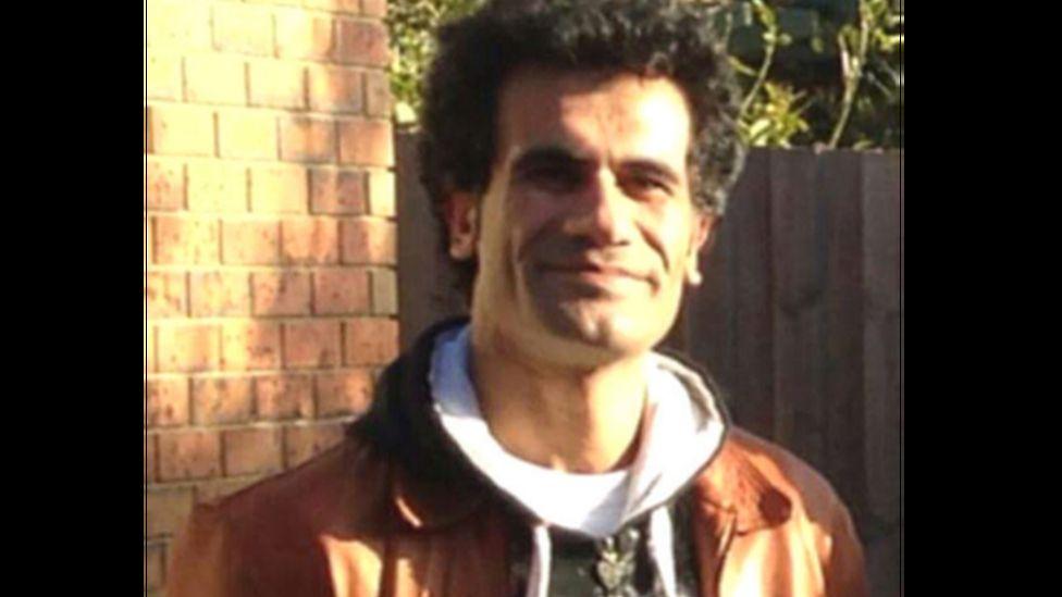 Iranian Kurdish refugee, Fazel Chegeni, who died on Christmas Island