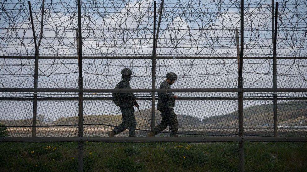 File photo of the DMZ