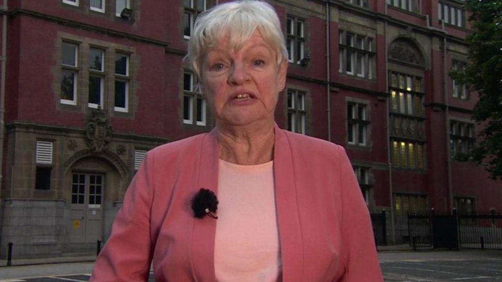 Lancashire County Council leader Jennifer Mein
