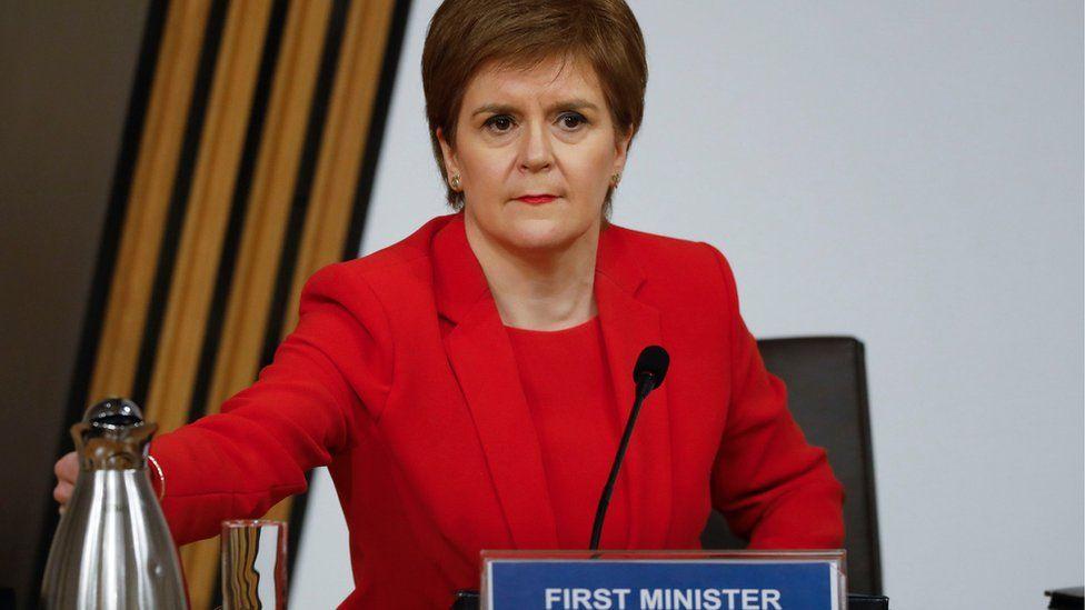 Alex Salmond inquiry says Nicola Sturgeon misled committee