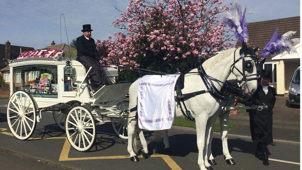 Violet-Grace Youen funeral