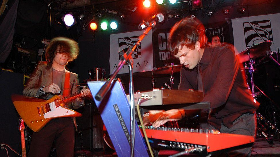 The Killers in 2003