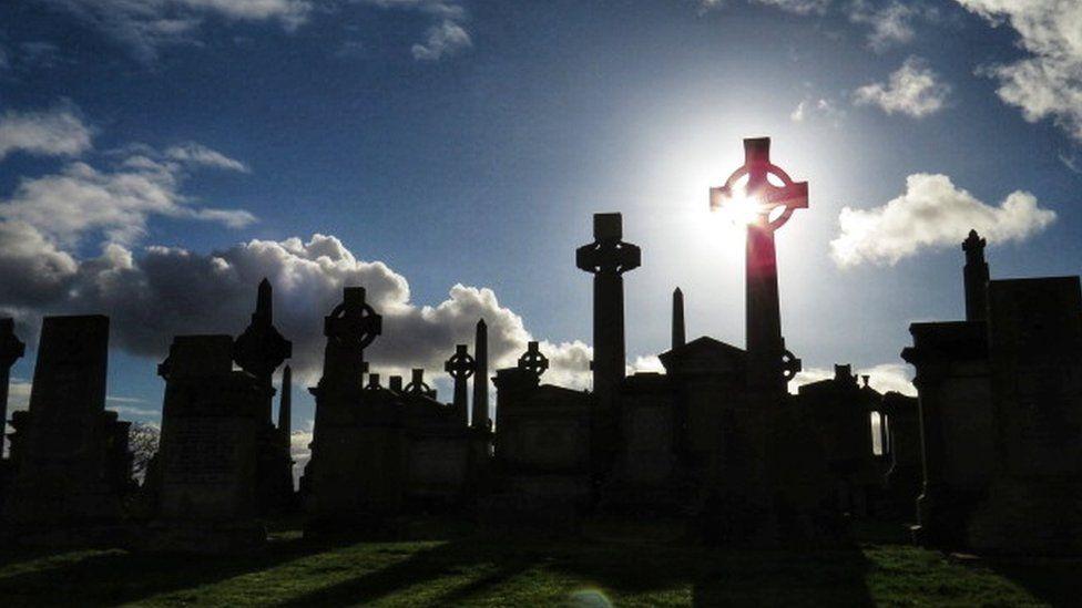 The Necropolis in Glasgow