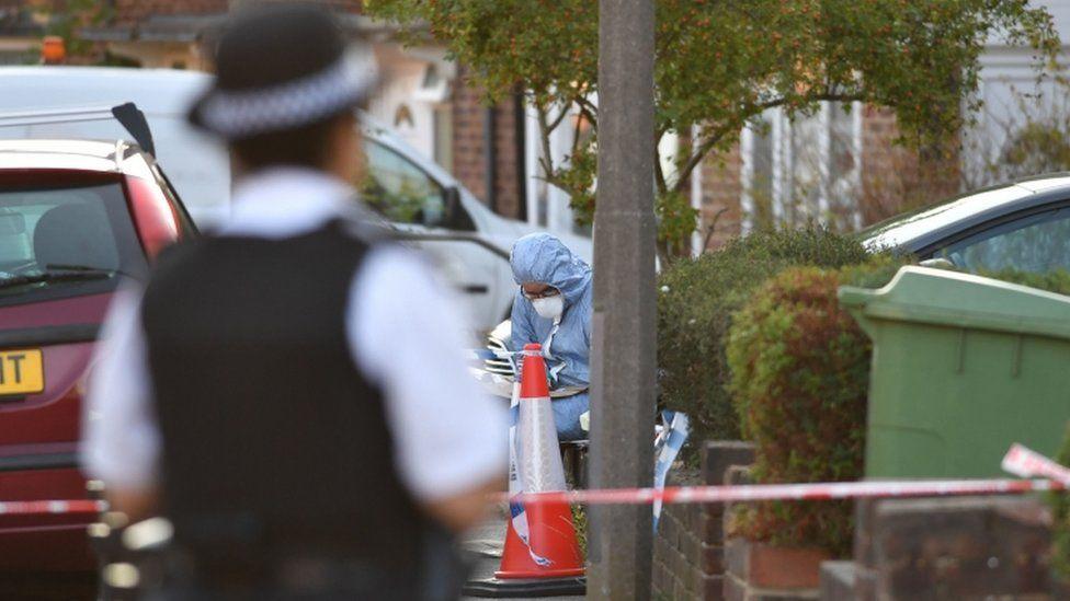 Adderley Gardens crime scene