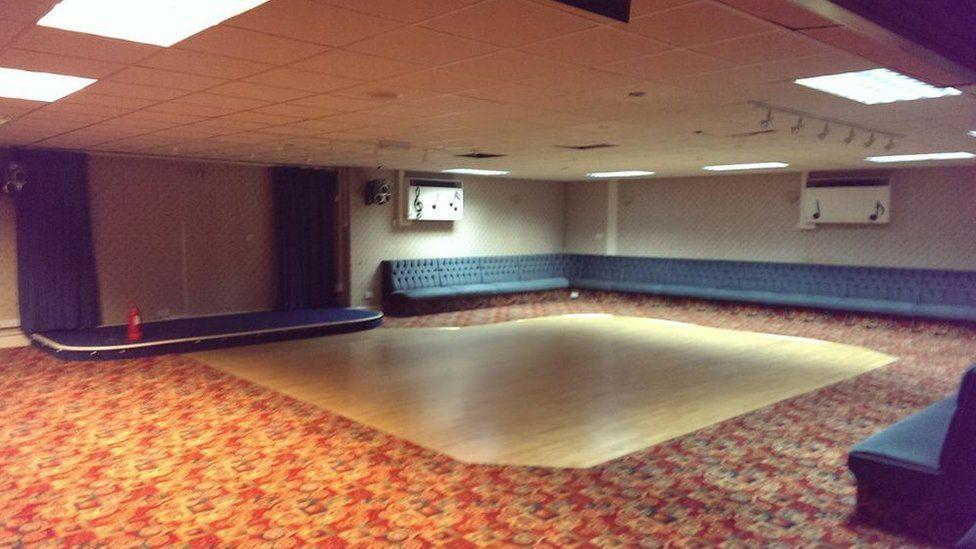 Brunswick Club dance hall