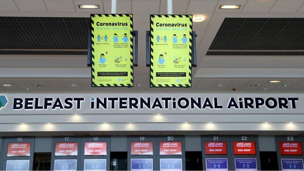 Aeropuerto internacional de Belfast