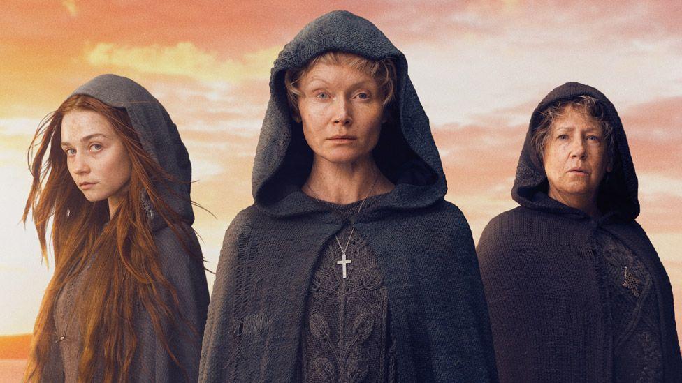 Jessica Barden, Essie Davis and Ann Dowd star in Lambs of God