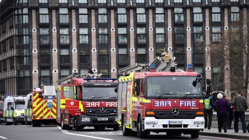London fire engines