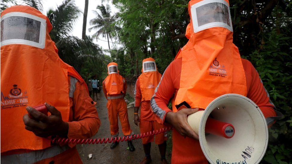 NDRF rescue teams