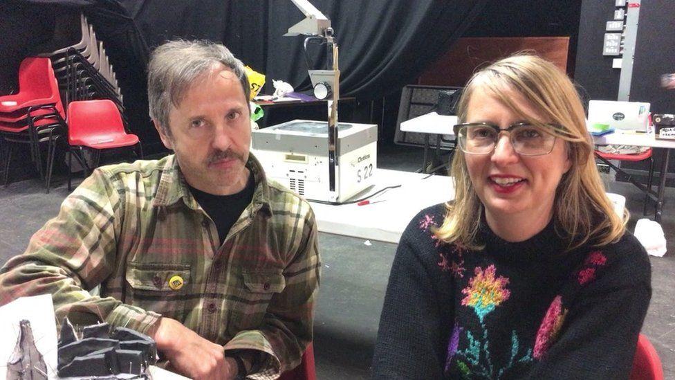 Neil Bromwich and Zoe Walker
