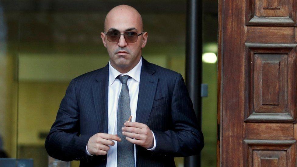 Yorgen Fenech leaves court in Valletta, 29 November 2019