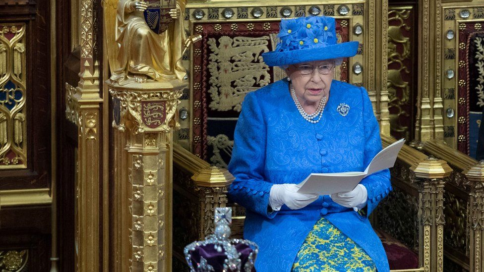 Brexit plans centre stage in Queen's Speech