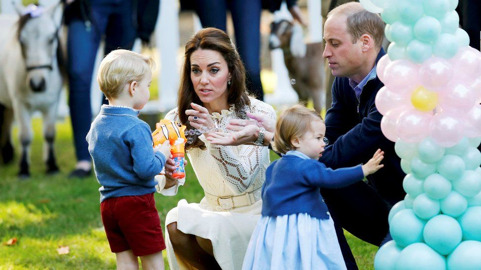 The Cambridges together