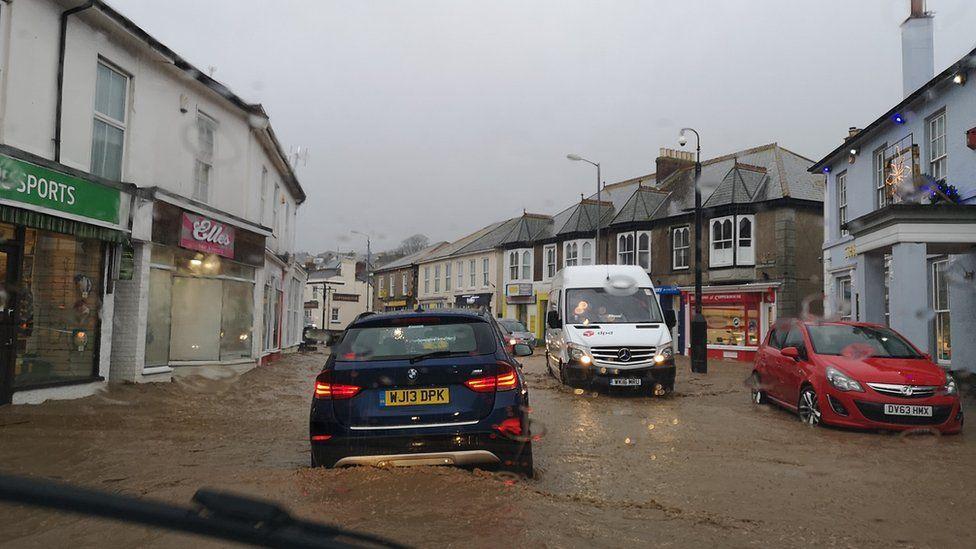 Hayle floods