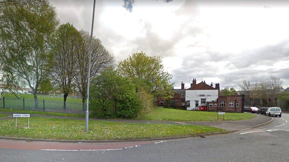 Midland Road/Garden Street junction, Rotherham