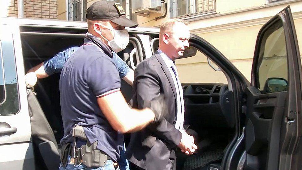 Arrest of Safronov, 7 Jul 20