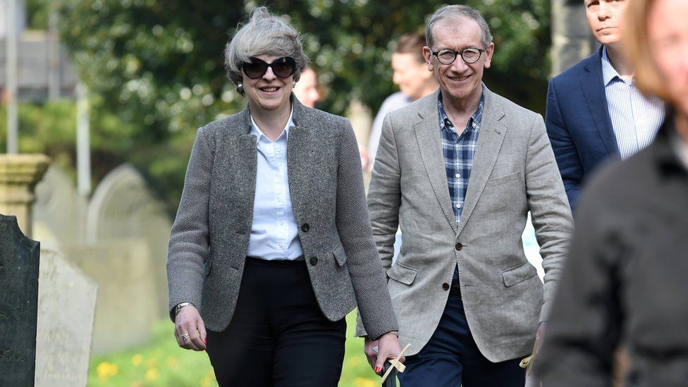 Theresa and Philip May