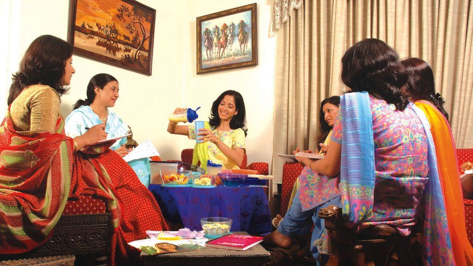 Tupperware party in India
