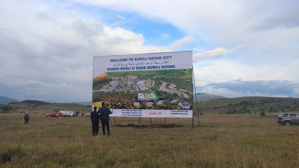 Billboard for Buroj Ozone City