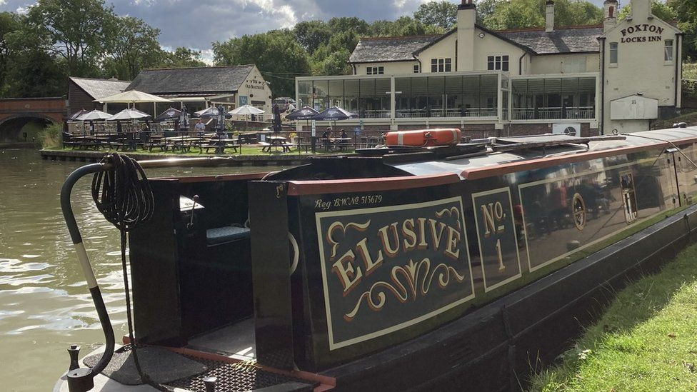 Man Arrested After Narrow Boat Stolen In Leicestershire Bbc News