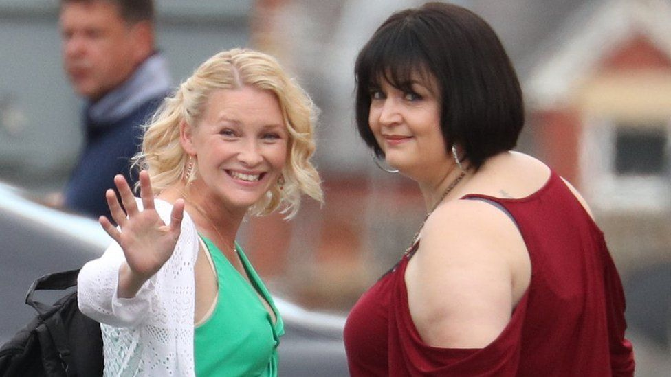 Gavin and Stacey cast filming