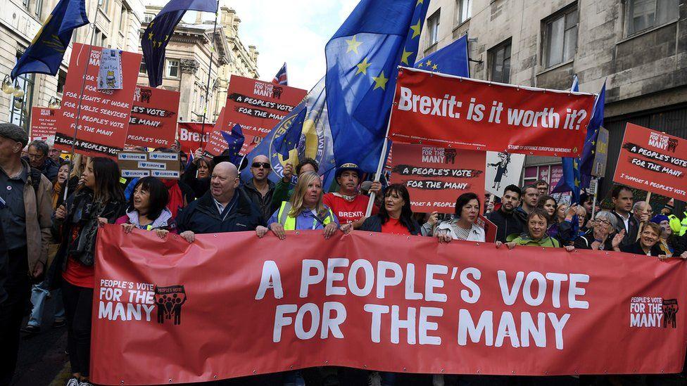 people's vote protest