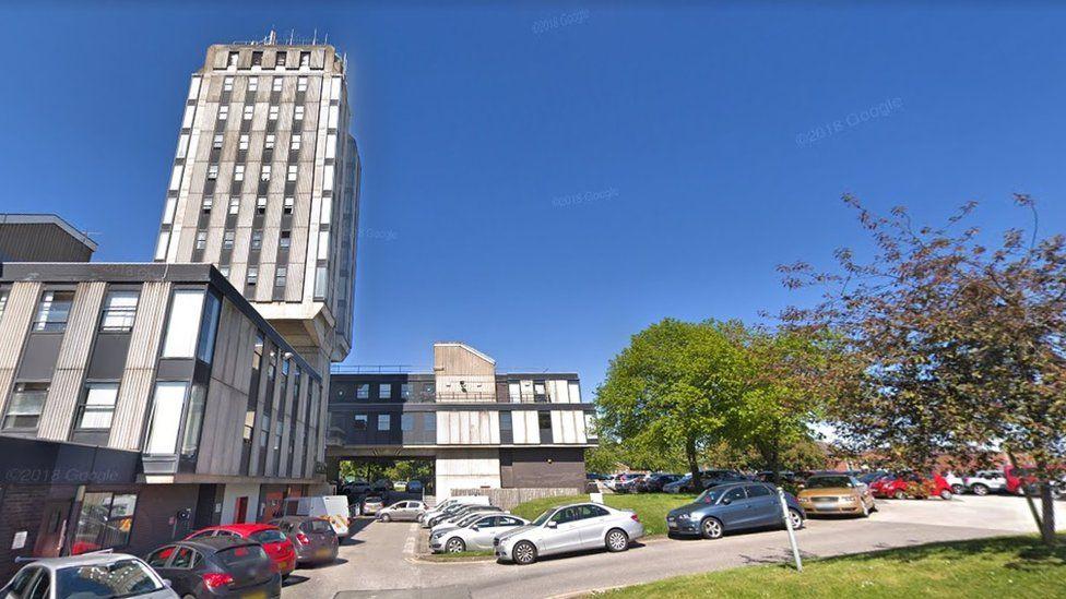 Wrexham police station