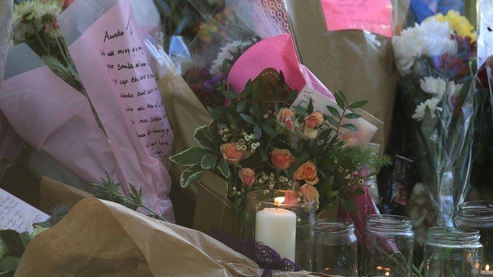 Tributes left in Snowdon