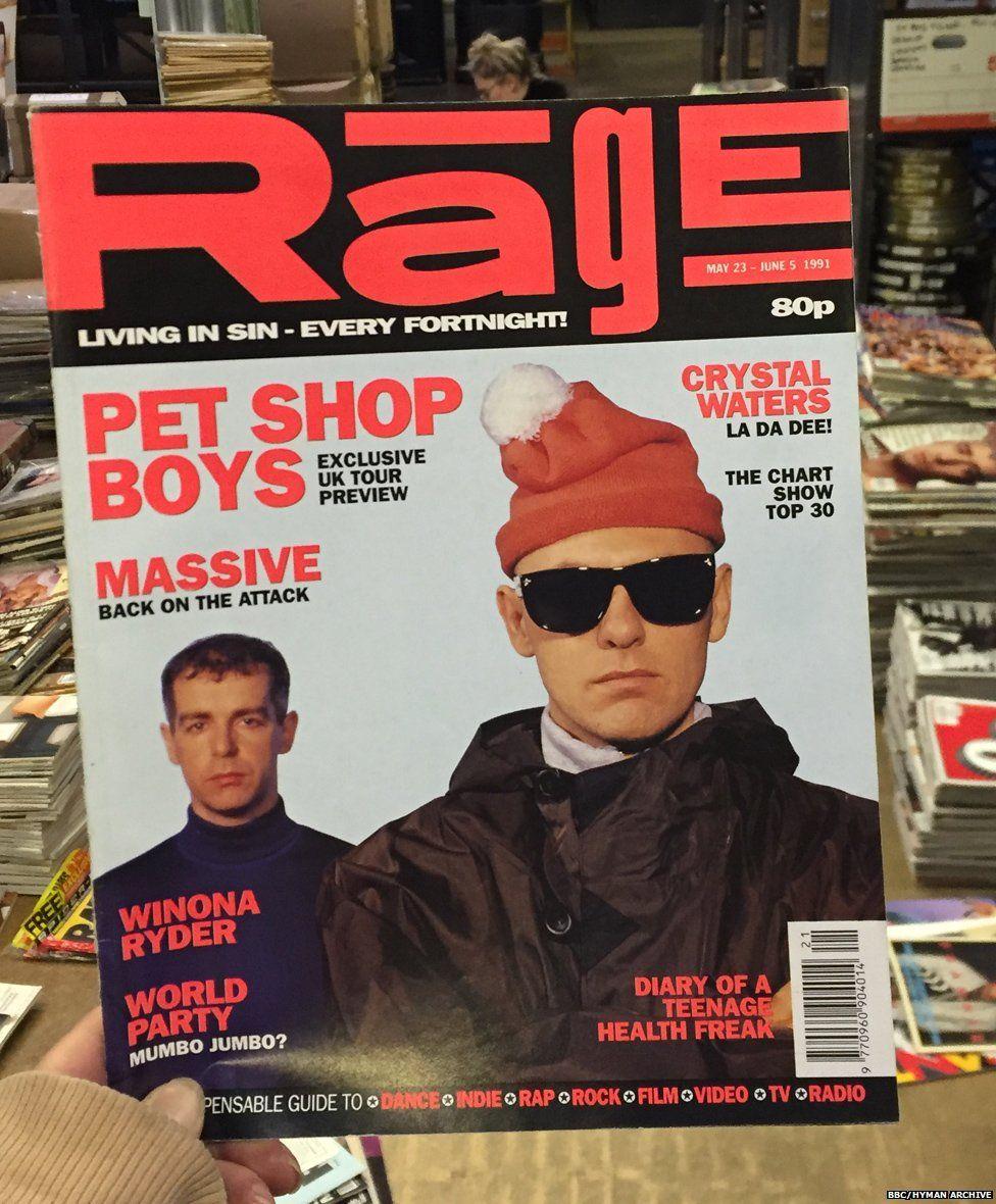 Rage magazine, 1991