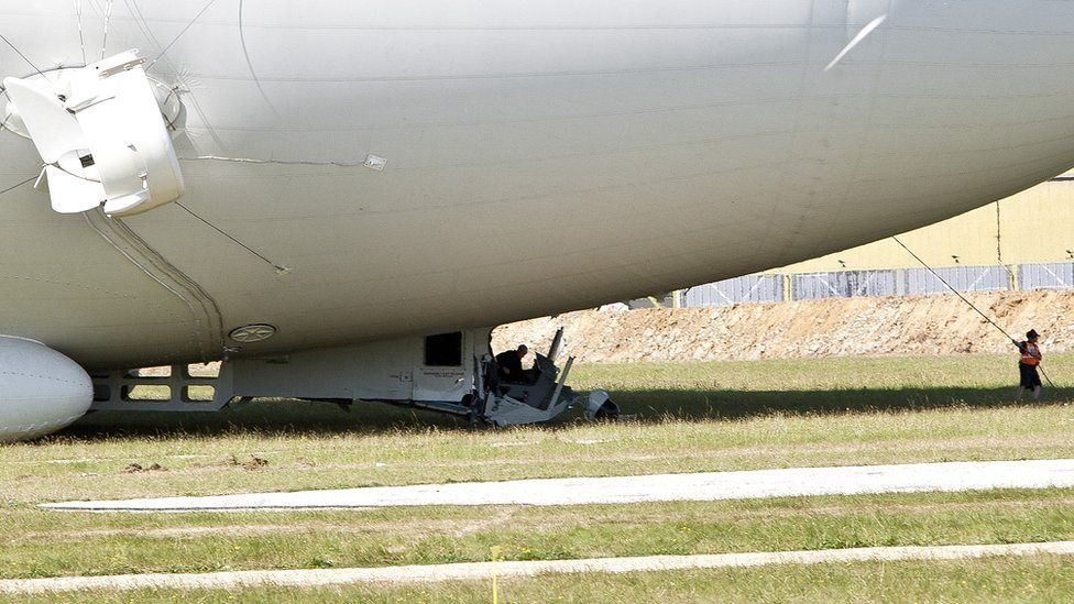 damage to the airlander