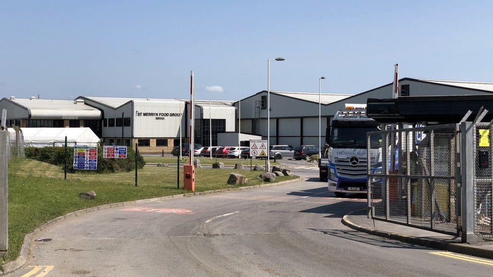Kepak meat processing plant