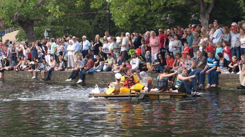 River Festival boat race