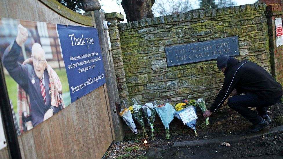 Capt Sir Tom Moore tributes