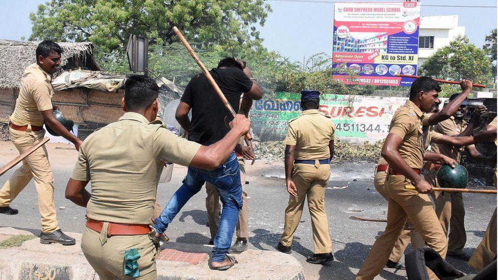 Sterlite copper smelter protesters